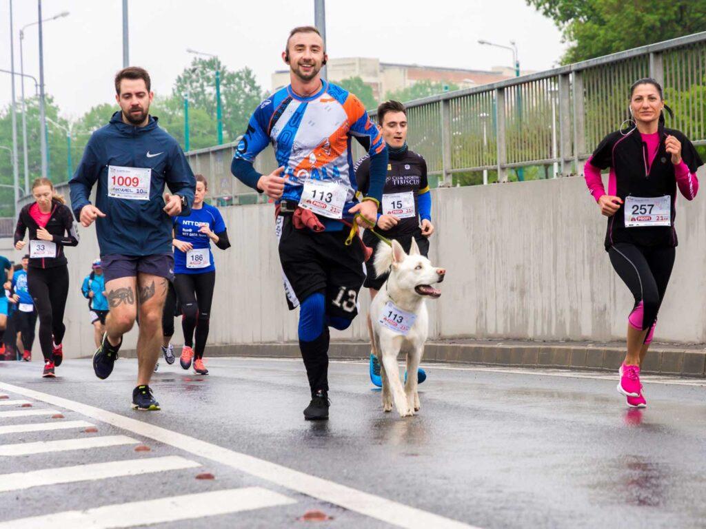 La media maratón y los hidratos de carbono